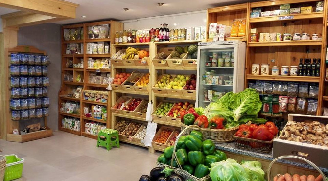 Productos ecol gicos oviedo opciones para veganos y celiacos - Accesorios para supermercados ...